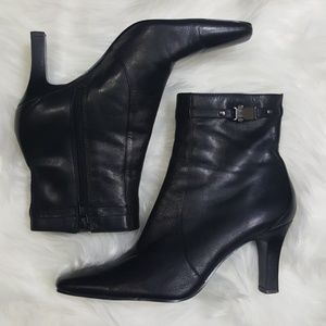 Bandolino Taboo Ankle Boots Square Toe Size 7.5